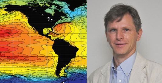 FCI Co-Director Eric Chassignet Receives FSU Distinguished Research Professor Award