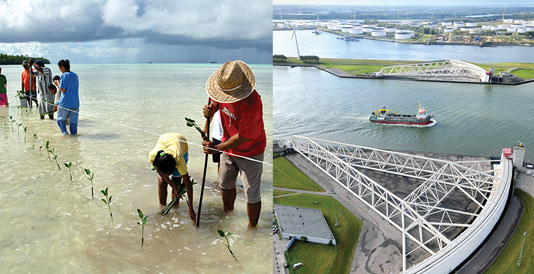 IPCC report cover photos